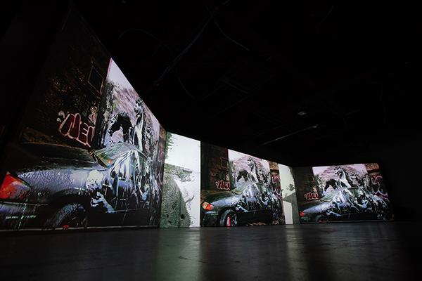 『バンクシー展 天才か反逆者か』展示風景