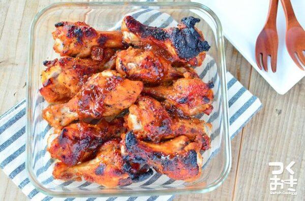 美味しい人気のレシピ!鶏手羽元のBBQグリル