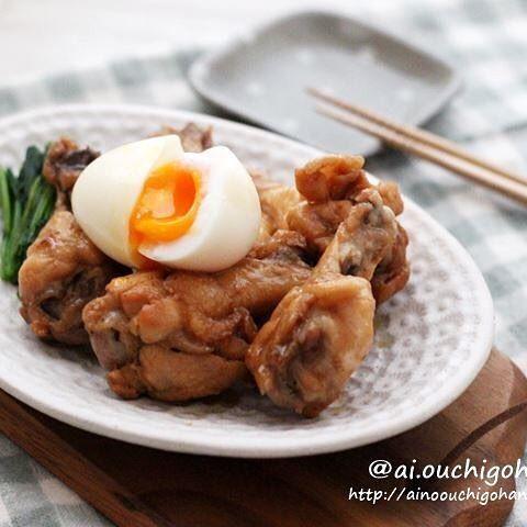 人気のレシピ!手羽元の黒酢コク旨ホロホロ煮