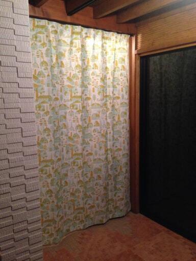カウニステのカーテン