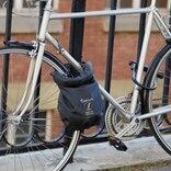 自転車の盗難防止やひったくり防止にも!ロック付き防水バッグ