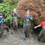 『池の水ぜんぶ抜く』緊急事態宣言明け後、初ロケ! 少人数で立ち向かう