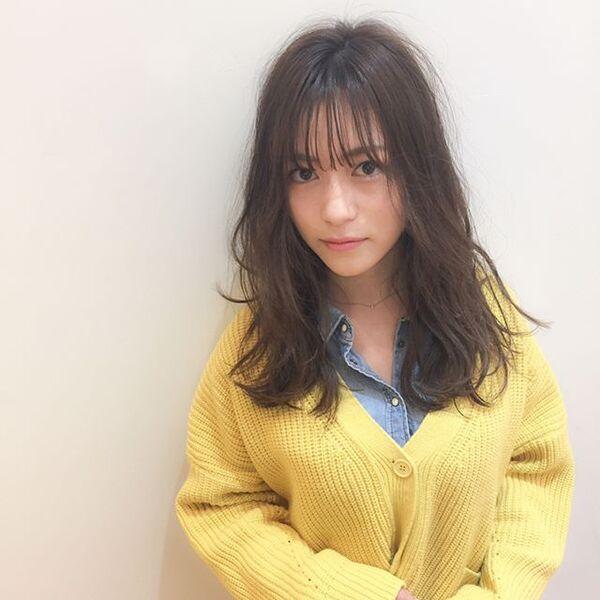 【2020秋トレンド前髪】シースルーバング2