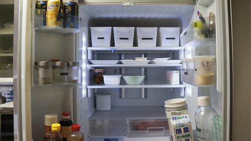 購入後9年近く経った冷蔵庫