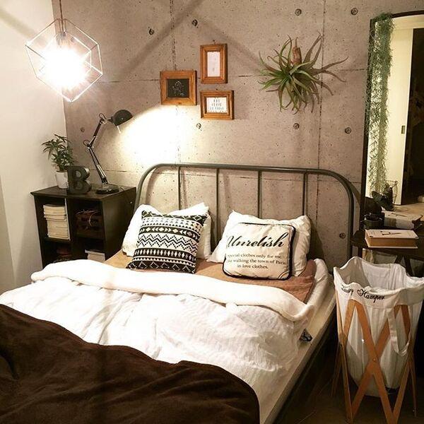 寝室のおしゃれインテリア10