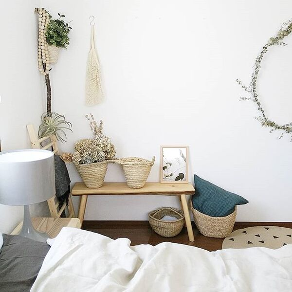 寝室のおしゃれインテリア6