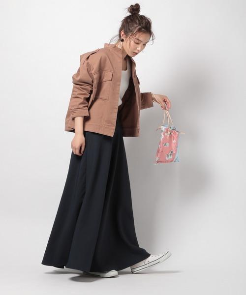 [BABYLONE] バックサテンマーメイドスカート