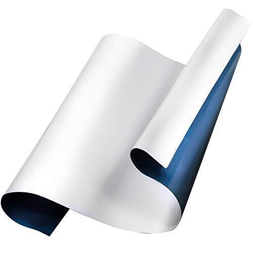 KZDESIGN 壁に貼れるホワイトボード よく消えて磁石もくっつく 場所をとらないシートタイプ 60㎝-40㎝