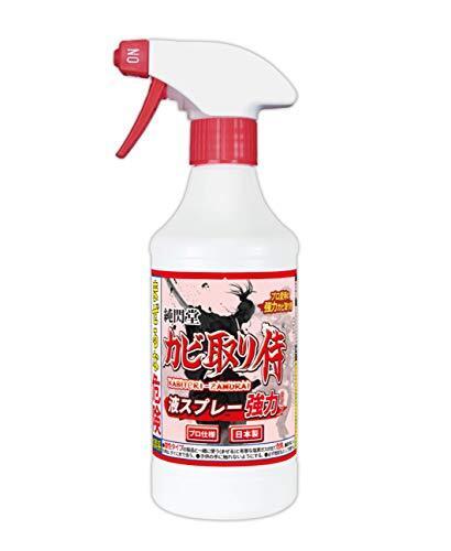 カビ取り侍 液スプレー 500g 強力タイプ 風呂 部屋の壁紙 土壁 クロス キッチン用 KZ-L500P