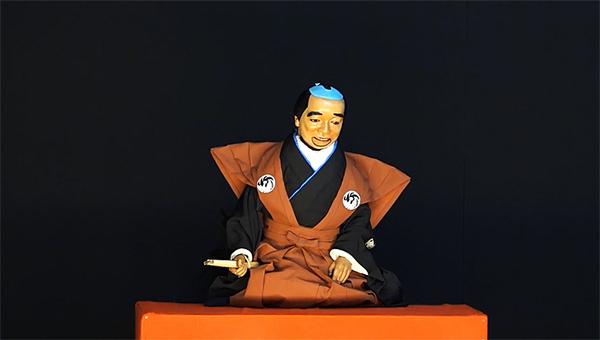 「図夢歌舞伎『忠臣蔵』第一回」口上人形=市川猿弥((C)松竹)