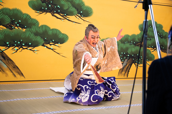 「図夢歌舞伎『忠臣蔵』第一回」リハーサル風景(撮影:塚田史香)