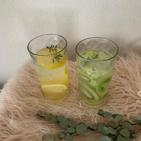 涼しげなロンググラス