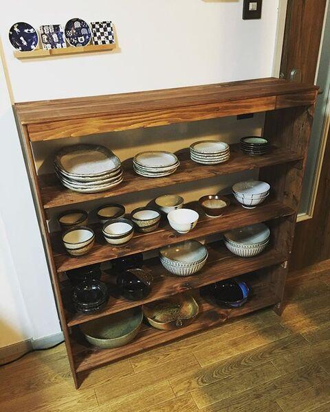 食器棚の収納アイデア5