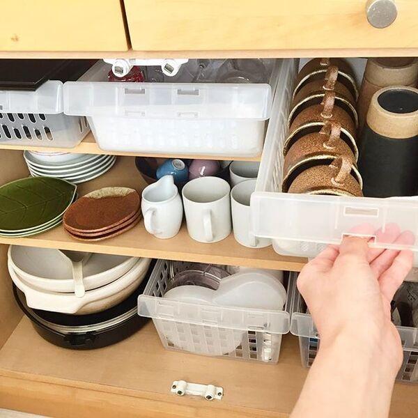 食器棚の収納アイデア7