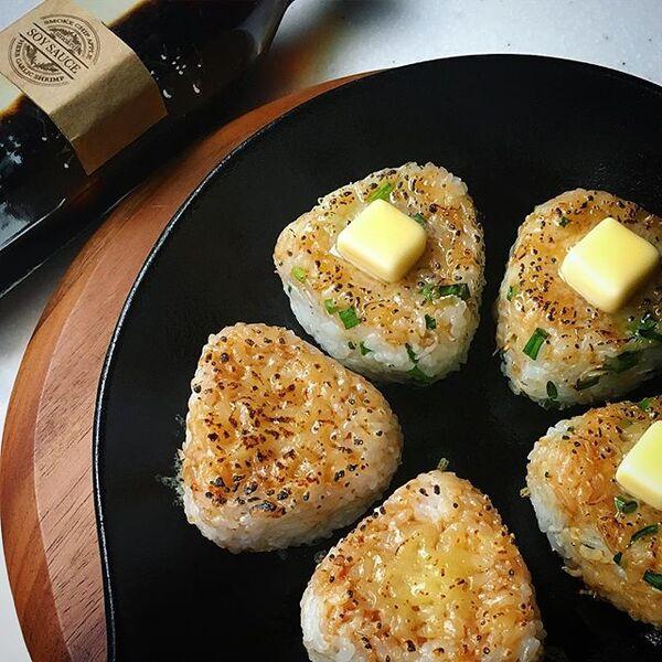 簡単で美味しいおにぎりレシピ☆焼き3