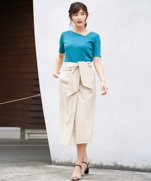 [a.v.v] 太サッシュナロースカート