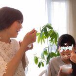 "hitomi、娘らとの笑顔""食事SHOT""&「手がパンパン」な妊娠後期トラブル明かす"