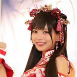 似鳥沙也加が巫女コスプレで日本酒アピール!家飲みは「えへへへへってなる」