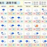 関東 来週は真夏日増加 蒸し暑い一週間に
