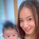 鈴木亜美、自分の0歳時の写真&現在の次男との2SHOT公開に反響「めっちゃ似てる」「ビックリ」
