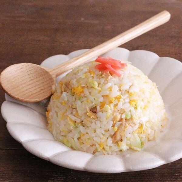 人気のレンジ調理で簡単!ツナチャーハン