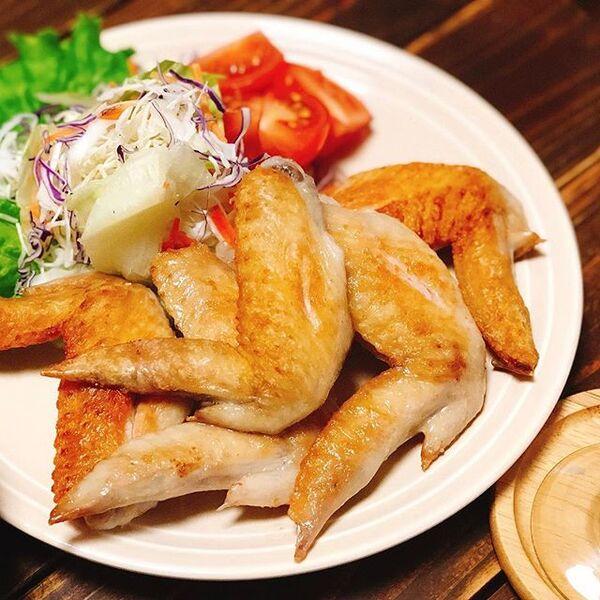 人気の美味しいレシピ!絶品鶏手羽先の塩焼き