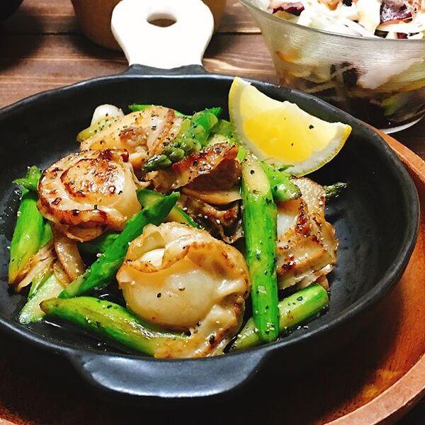 ホタテのメニューで簡単人気レシピ☆お弁当11