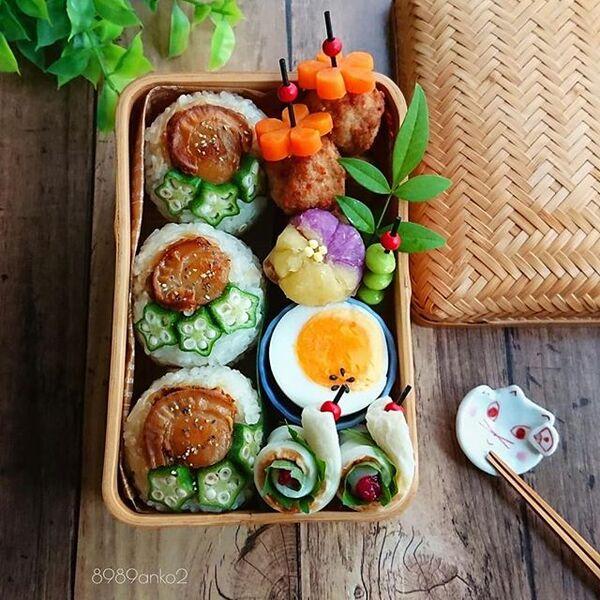 ホタテのメニューで簡単人気レシピ☆お弁当3