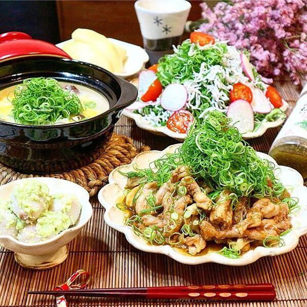 夏におすすめの簡単和食メニュー☆主菜2