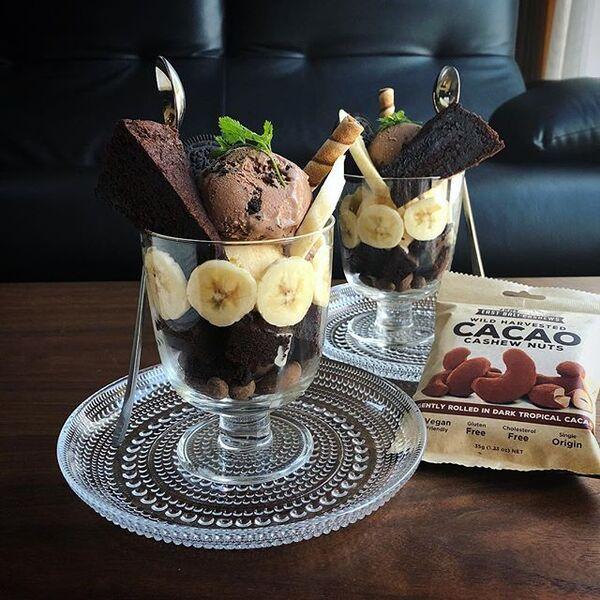 チョコのスイーツ☆人気レシピ《冷たいスイーツ》4