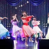 SUPER☆GiRLS、新衣装で新曲をエネルギッシュに披露 エイベックス アイドル集合の無観客ライブに登場