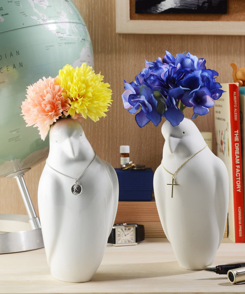 《Kata Koto》Parrot Vase