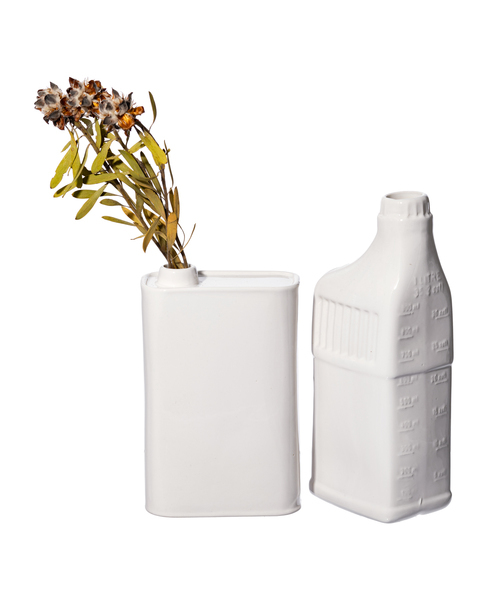 《PUEBCO》OIL CAN SHAPED FLOWER VASE