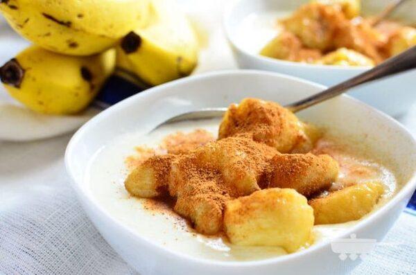 人気のおやつレシピ!ホットバナナヨーグルト