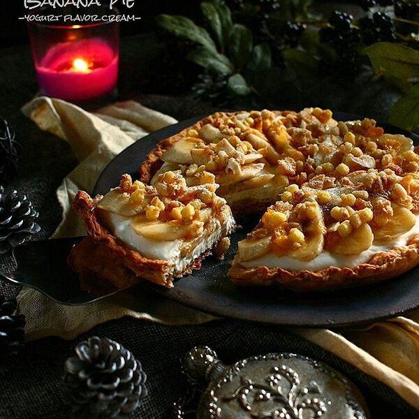 人気のスイーツレシピ!絶品バナナパイ
