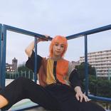 りゅうちぇる、ピンクからオレンジ髪に変身「イケテる」