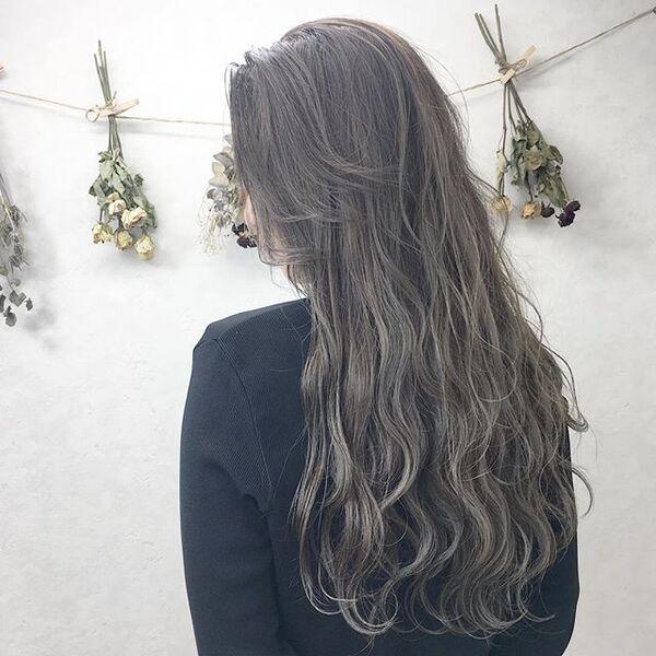 ロング×ゆる巻きカタログ②《暗色カラー》