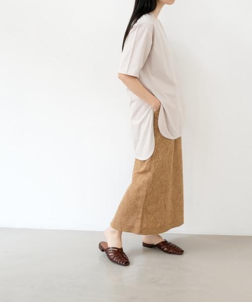 [LOWRYS FARM] 【WEB限定】ジャガードタイトスカート 885235