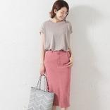大人っぽく女性らしい『タイトスカート』♪おすすめの夏の着こなし