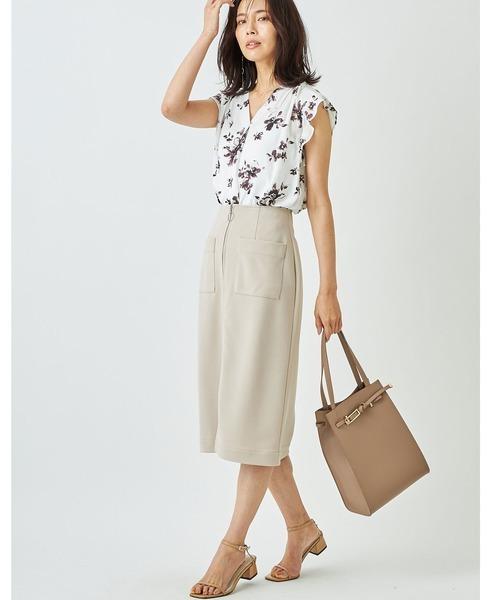 [tocco closet] ジップ付きタイトスカート