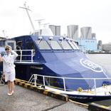 東海汽船、7月13日就航「セブンアイランド結」公開 25年ぶり日本製ジェット船