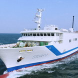 STU48 来春めどに専用劇場船舶「STU48号」が幕、今後は各地巡って公演