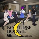 瀬戸麻沙美、山下誠一郎、吉田仁美ら出演の会話劇 森田と純平が完全リモートで制作したアニメ『ノクターンブギ』7月10日配信開始