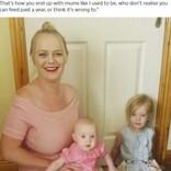 4歳次女に授乳する母親「長女も5歳まで続けた。娘の気が済むまで与えるつもり」(アイルランド)