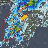 九州 低気圧発達 積乱雲群接近 再び大雨のおそれ