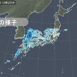 九州北部や東海に再び発達した雨雲 1時間雨量50ミリ以上も