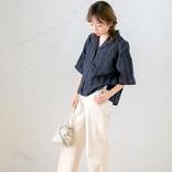 夏の紺シャツコーデ【2020】爽やかおしゃれなレディースファッションをご紹介!