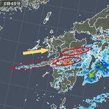 熊本・大分に活発な雨雲 災害の危険高まる