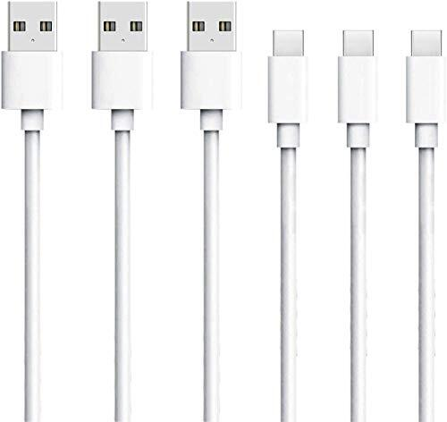 USB Type c ケーブル 3本セット 2m タイプc ケーブル USB-C & USB-A 急速充電 高速データ転送 Quick Charge 2.0対応 type-c 充電器 高耐久Type-c機器充電 アンドロイド多機種対応 (3本2m)