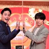 ジャニーズWEST・桐山照史、『爆笑!ターンテーブル』で先輩・三宅健との共演にタジタジ